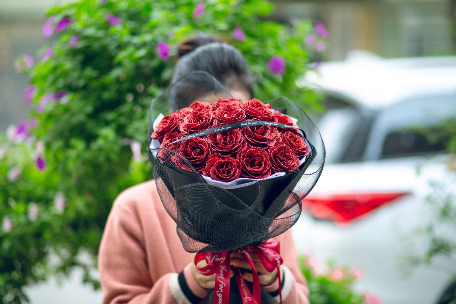 Hoa Nhũ Đỏ phối lưới