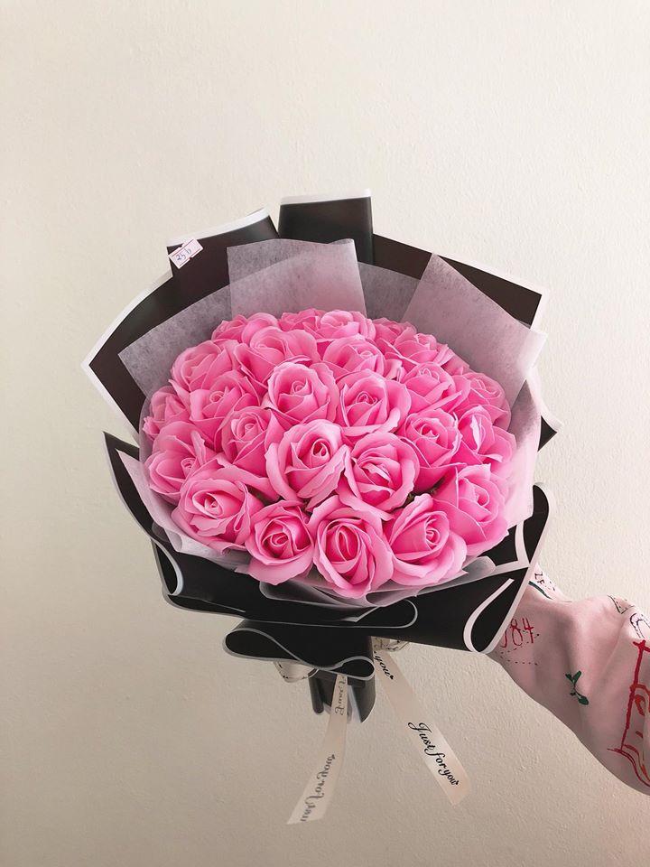 Hoa sáp hồng